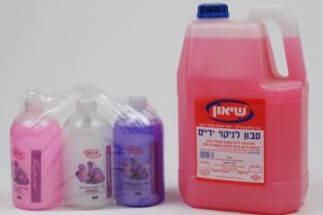 נוזל ידיים 4 ליטר – 5 ליטר